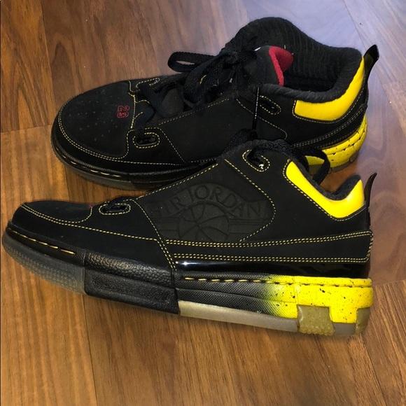 5c3a042dcea Jordan Shoes | Bnib Air Sneakers Black Red And Yellow | Poshmark